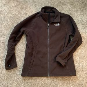 Brown XL Fleece North Face